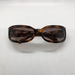 Chanel Brown Tortoise Sunglasses